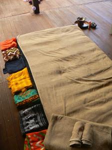 tapis massage serrage